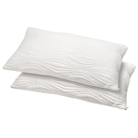 Queen Gel Memory Foam Pillow Set of 2