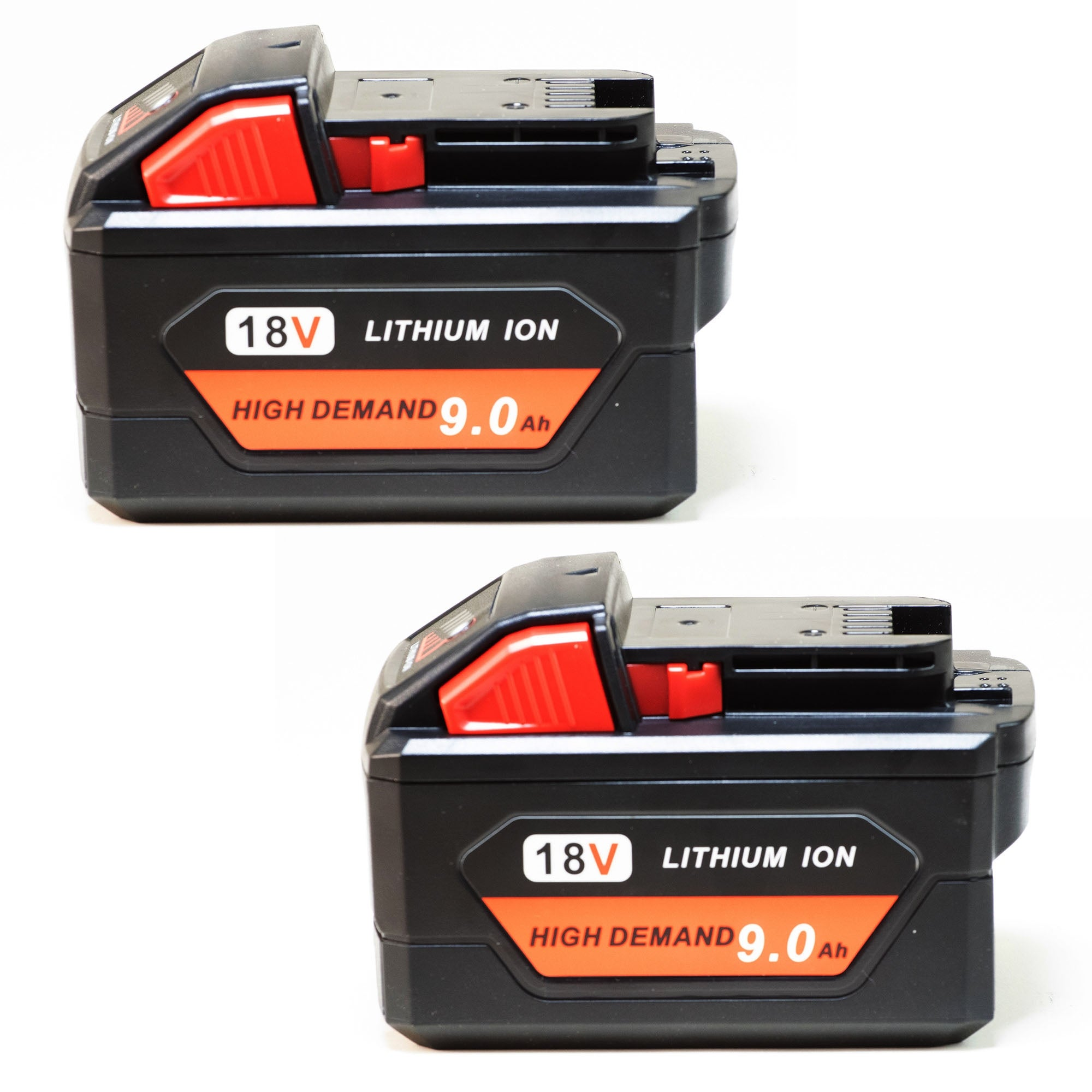Replacement 9000mAh Battery for Milwaukee 2655B-22 / 2730-22 / 2780-21 Power Tools (2 Pk)