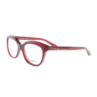 Coach HC6096 5029 51 Burgundy Round Optical Frames - 51-16-135