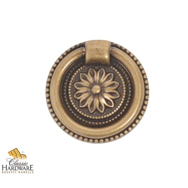 Bosetti Marella 100191 Louis XVI 1-7/16 Inch Diameter Ring Cabinet Pull