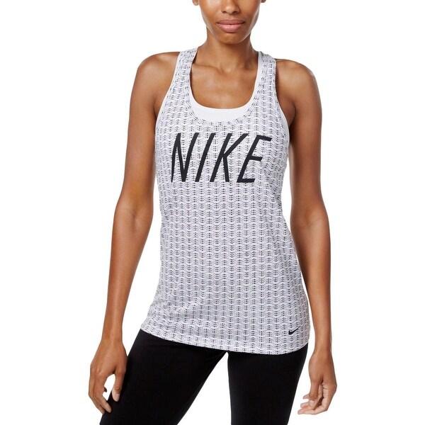 e61fa53c8ae684 Nike Womens Tank Top Dri-Fit Printed ...
