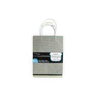 Coredinations Paper Bags 8x10.25x4.25 Neutral 5pc