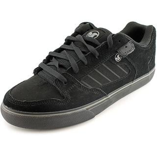 DVS Militia CT Men Round Toe Suede Black Skate Shoe