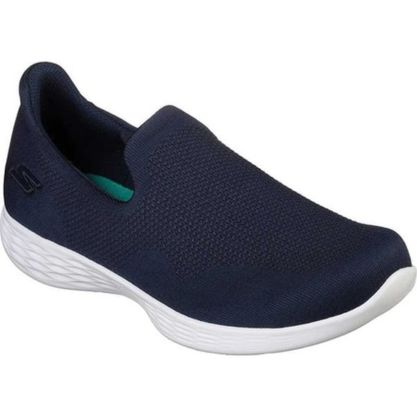 shoes for cheap retro world-wide free shipping Shop Skechers Women's YOU Define Blithe Slip-On Shoe Navy ...
