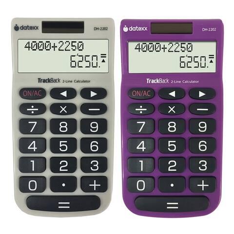 Datexx (3 ea) 2line trackback handheld dh2202bn