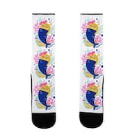 Mergical Mermaid US Size 7-13 Socks by LookHUMAN