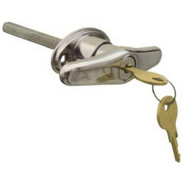 Shop N280 610 Chrome Universal Garage Door Locking T Handle Free