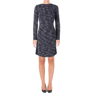 Lauren Ralph Lauren Womens Wear to Work Dress Tweed Colorblocked