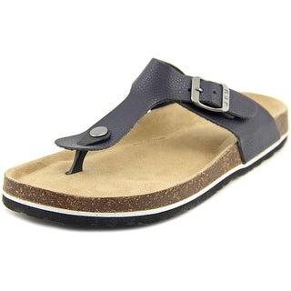 JBU by Jambu Laura Too Women Open Toe Synthetic Black Thong Sandal