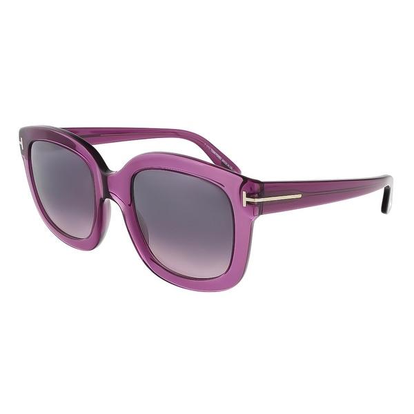 Tom Ford FT0279/S 90W Christophe Purple Square Sunglasses - 53-23-140