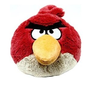 """Angry Birds 16"""" Deluxe Plush: Red Bird - multi"""