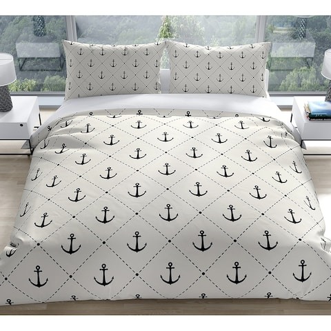 ANCHOR DOWN Duvet Cover by Kavka Designs