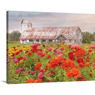 """""""Vermont Flowers"""" Canvas Wall Art"""