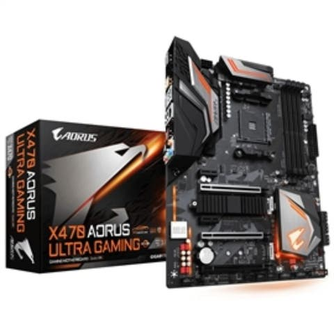 Gigabyte Motherboard X470 AORUS Ultra Gaming AMD AM4 X470 Retail