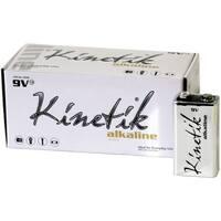 Kinetik 53316 9-Volt Alkaline Batteries, 12 Pk