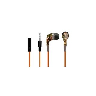 Sentry HM905 Stealth Stereo Camouflage Earbuds, Green & Brown