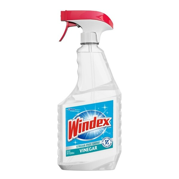 Windex 70331 Vinegar Multi-Surface Cleaner, 26 Oz, Clear