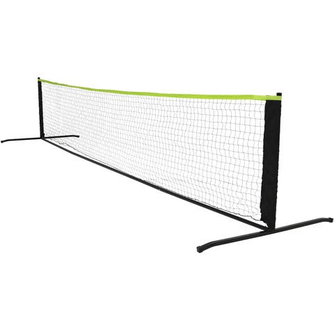 Sunnydaze Portable Pickleball Net System with Stand - 12-Foot