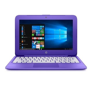 HP Stream Laptop PC 11-Y020NR 4GB RAM, 32GB eMMC, Violet Purple
