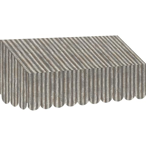 Corrugated Metal Awning Home Sweet Classroom - Grey