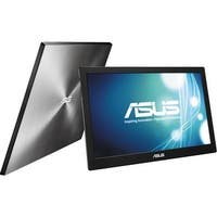 Refurbished - ASUS MB168B 15.6 11ms Widescreen LED/TN Portable Monitor 1366x768 USB 3.0