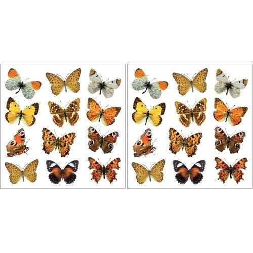 Brewster CR-54453 Colorful Butterflies Wall Decals