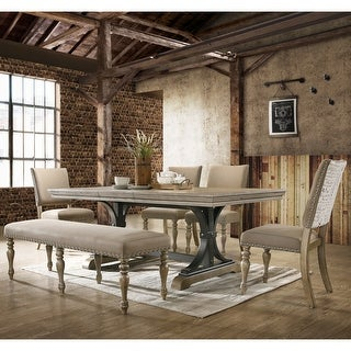Link to Birmingham Nailhead 6-Piece Dining Set Similar Items in Dining Room & Bar Furniture