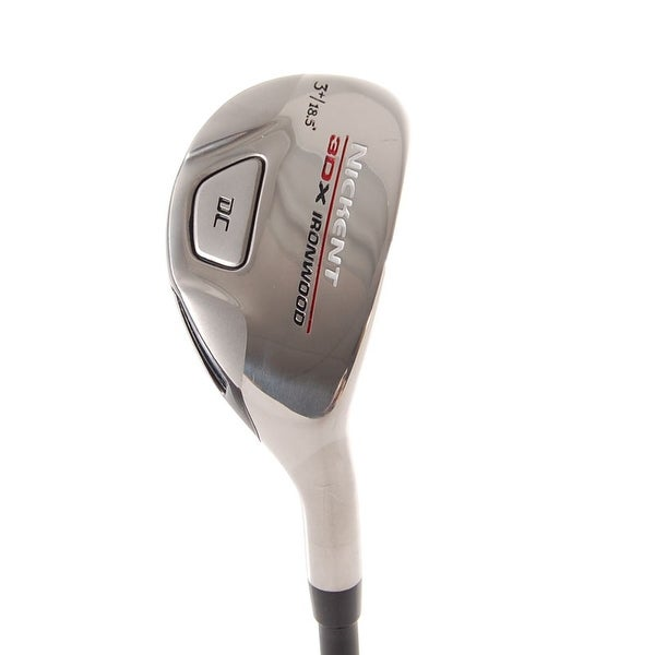 New Nickent 3DX Hybrid #3+ 18.5* R-Flex Graphite RH