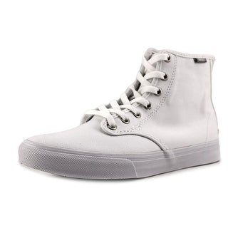 Vans Camden Hi Zip Women Round Toe Synthetic White Skate Shoe