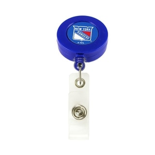New York Rangers Retractable Badge Reel Id Ticket Clip NHL