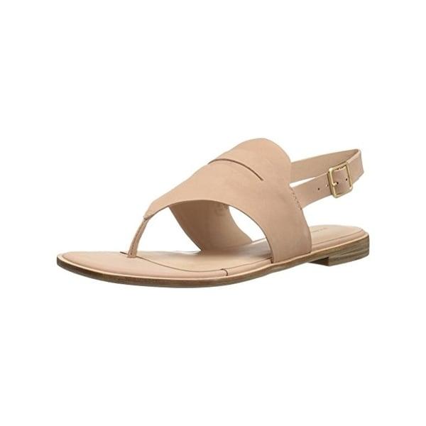 G.H. Bass & Co. Womens Maddie Thong Sandals Open Toe Causal - 7.5 medium (b,m)