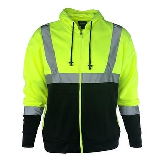 Buffalo Outdoors Hi Vis Reflective Safety Hoodie