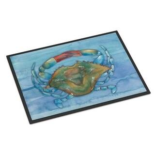 Carolines Treasures BB8527MAT Blue Crab Indoor or Outdoor Mat - 18 x 27 in.