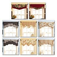 All Sizes In One Envelope - Fast & Easy Reversible Valances