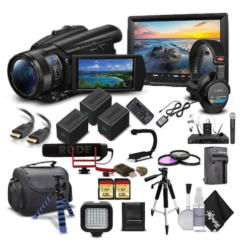 Sony FDR-AX700 4K Camcorder Starter Bundle 04 - Documentary Kit
