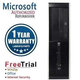 Refurbished HP Compaq 8200 Elite SFF Intel Core I3 2100 3.1G 8G DDR3 2TB DVD WIN 10 Pro 64 1 Year Warranty