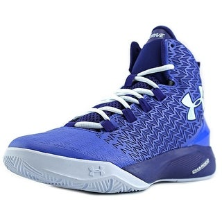 Under Armour BGS Clutchfit Drive 3 Youth Synthetic Blue Basketball Shoe