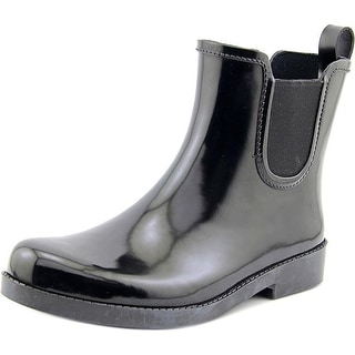 Coach Womens Tyler Rubber Closed Toe Ankle Rainboots Rainboots