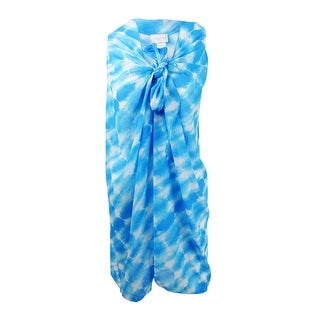 Dotti Women's Sky Is The Limit Printed Sarong Cover-Up (Blue, One Size) - Blue - One Size Fits Most