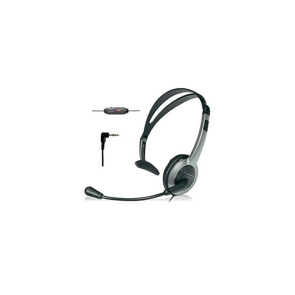 Panasonic KXTCA430 Over The Head Headset With Noise-Cancelling Feature