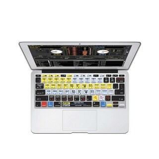 "KB Covers Serato DJ / Scratch Live Keyboard Cover for MacBook Air 11"" (SSL-M11-CC-2)"
