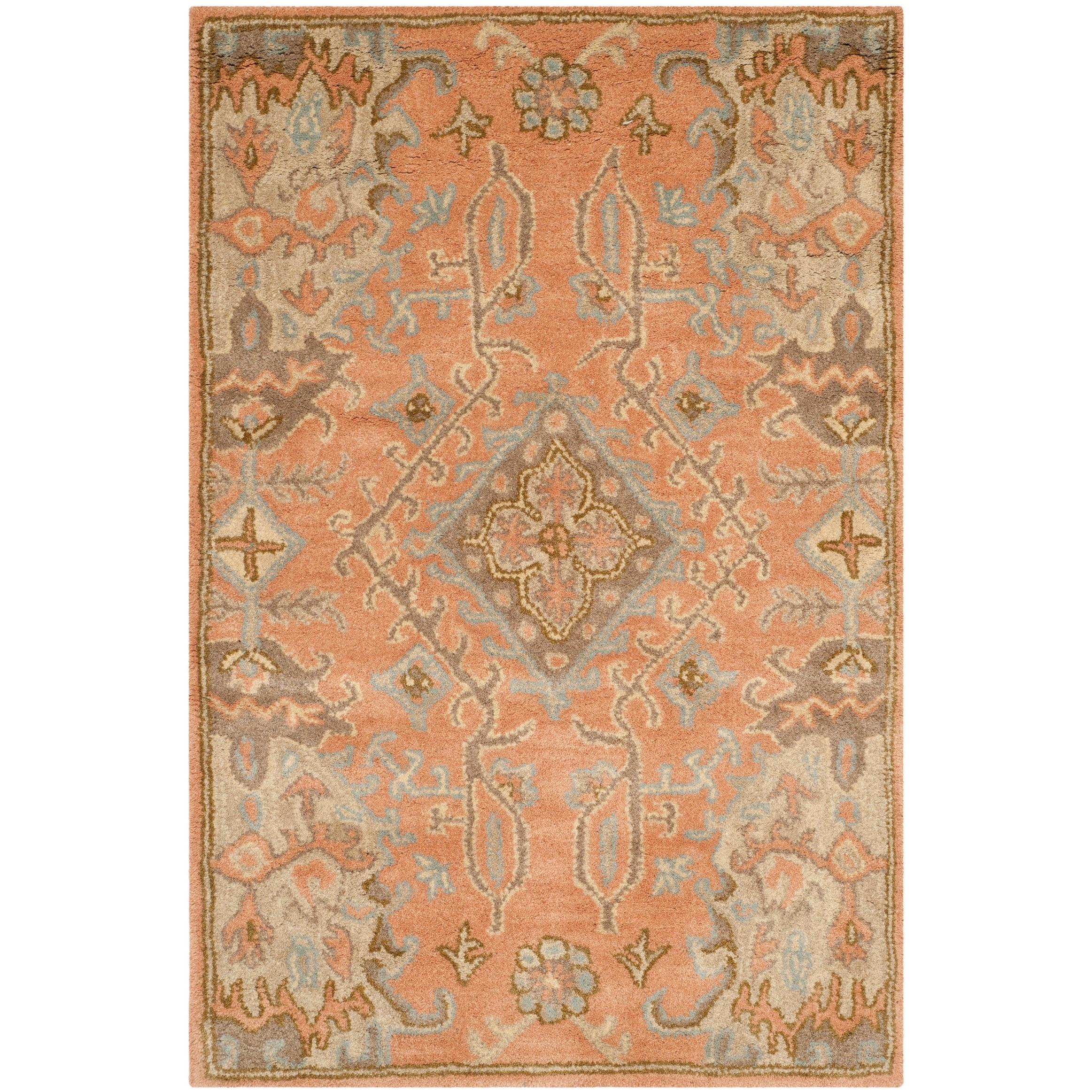 Safavieh Handmade Wyndham Xandra Modern Wool Rug On Sale Overstock 8593960