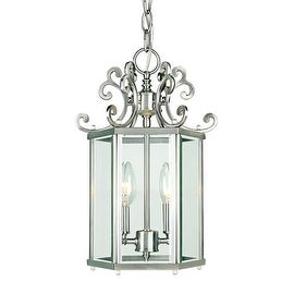 Savoy House KP-3-500-2 Two Light Foyer Pendant from the Spirit Collection