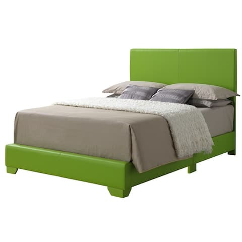 Aaron Faux Leather Bed