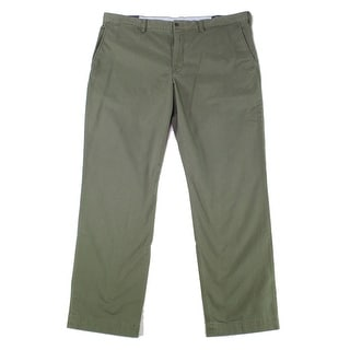 Link to Polo Ralph Lauren Mens Pants Green Size 38X32 Straight Chino Stretch Similar Items in Big & Tall