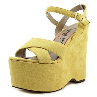 Luichiny In Her Shoes Open Toe Synthetic Platform Sandal