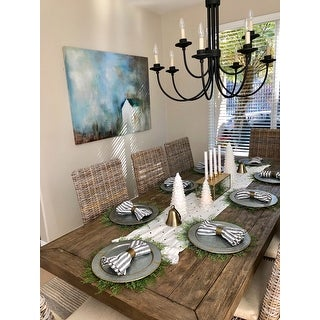 Kasey Reclaimed Wood Natural 94-inch Dining Table by Kosas Home
