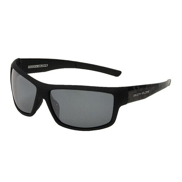 eef801c00ec Shop Body Glove Huntington Beach Polarized Sunglasses - Black Smoke - ONE  SIZE - Free Shipping On Orders Over  45 - Overstock.com - 23566836