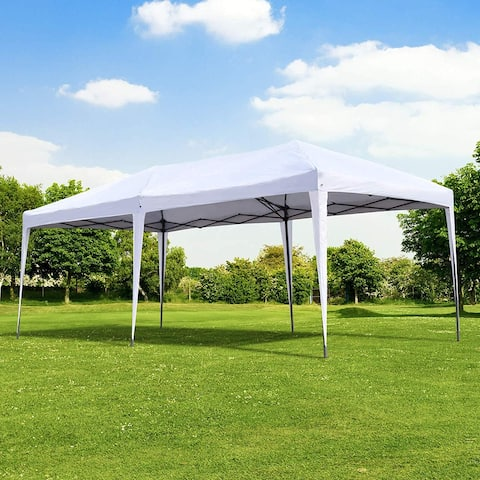 Outsunny 10x20-foot Easy Po-up Canopy Party Tent