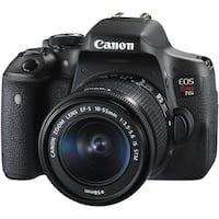 Canon EOS Rebel T6i DSLR Camera with 18-55mm Lens (International Model)